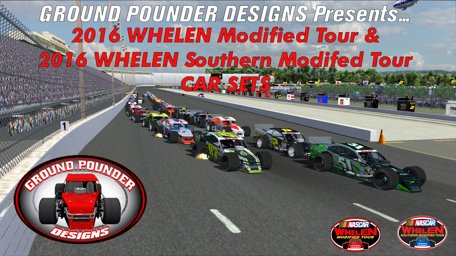 Ground Pounder Designs Presents    The 2016 NASCAR WMT and WSMT Car